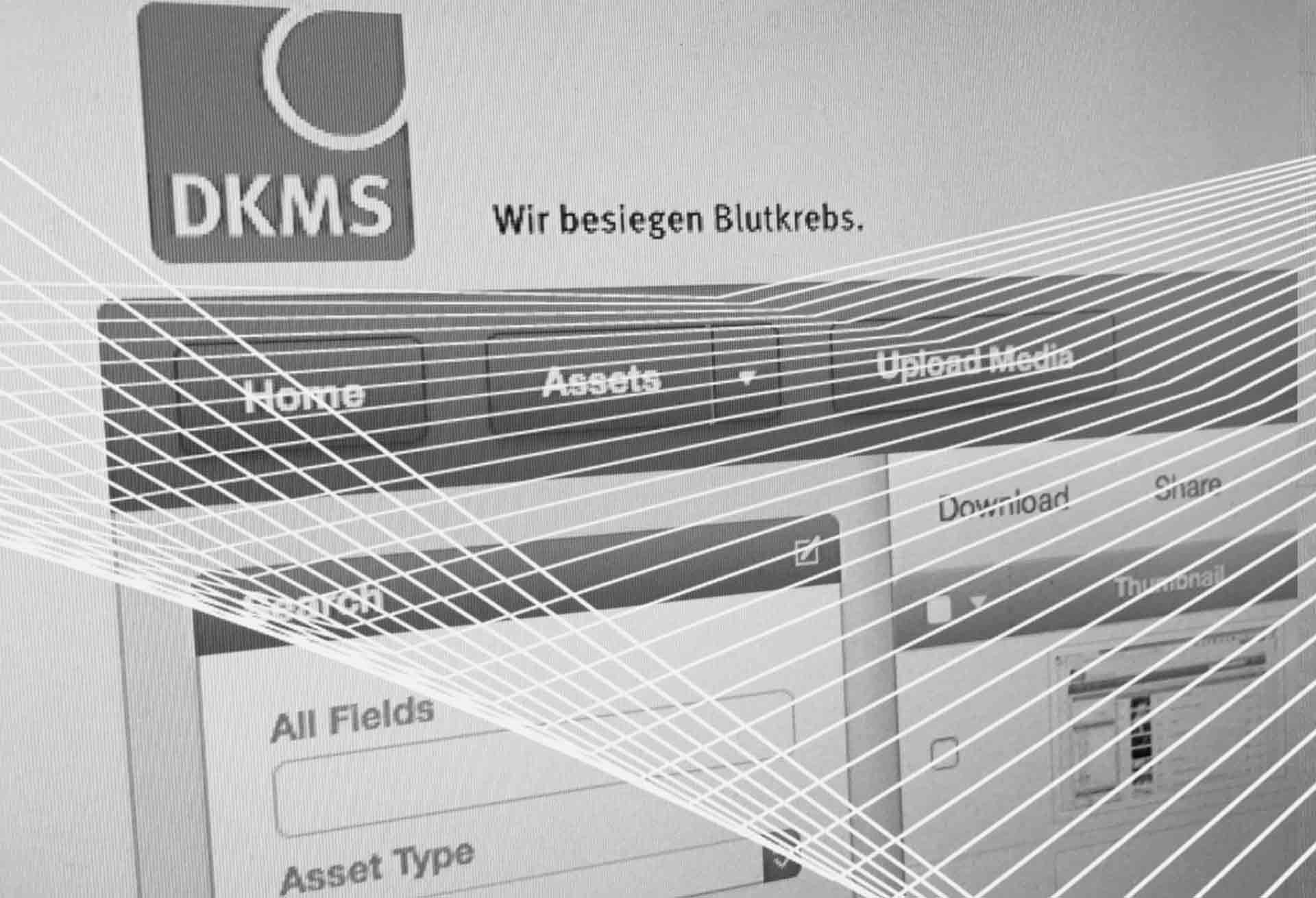 Vision Factory: zentrales bewegtbildarchiv für die DKMS